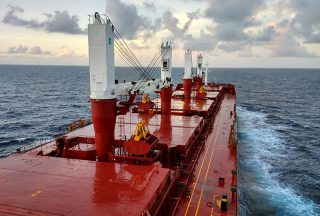 MES Delivers Bulk Carrier to Genoa Shipping