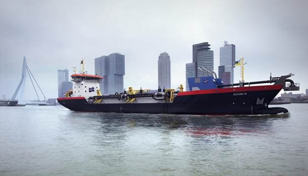 Shell Agrees To Supply LNG For Van Der Kamp Dredger