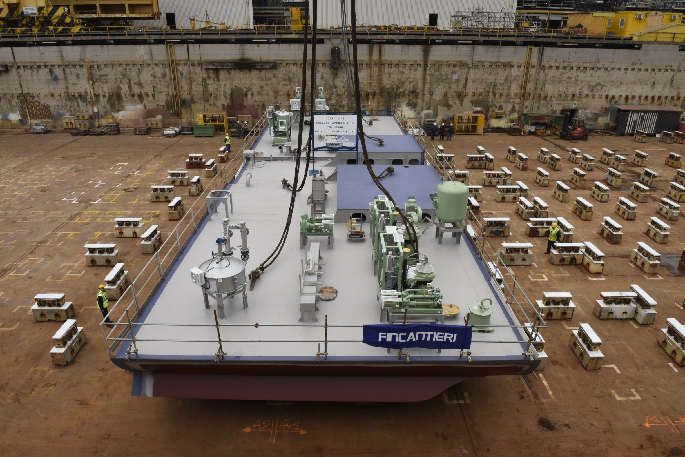Keel Laid for Holland America Line's New Pinnacle Class Ship