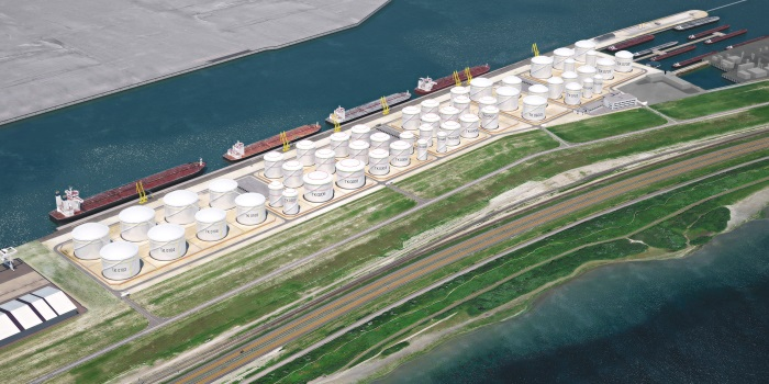 HES International signs long-term contract with BP and develops tank terminal at the Maasvlakte in Rotterdam