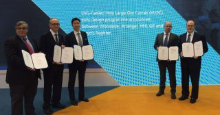 Partners Eye LNG-Fuelled VLOC Design