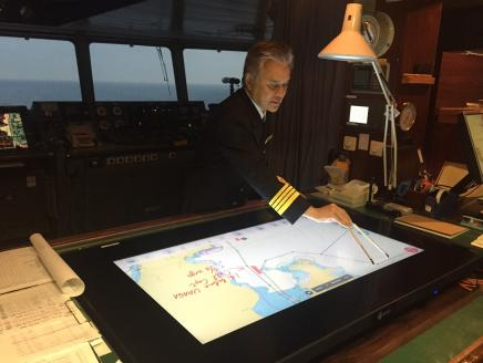 New Navigation Support Tool Allows Handwritten Inputs and Overlapping Weather Information on Electronic Charts