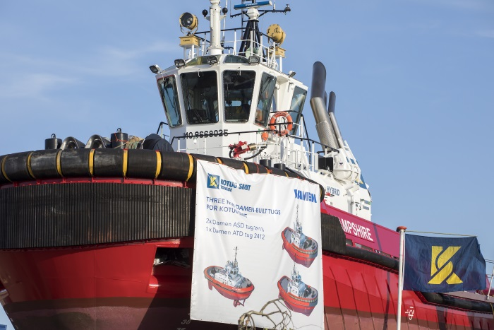 Kotug Smit Towage takes on three new Damen tugs for sustained operational growth