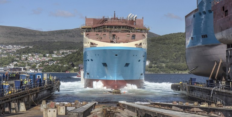 Maersk Supply Service optimizes new-building delivery schedule
