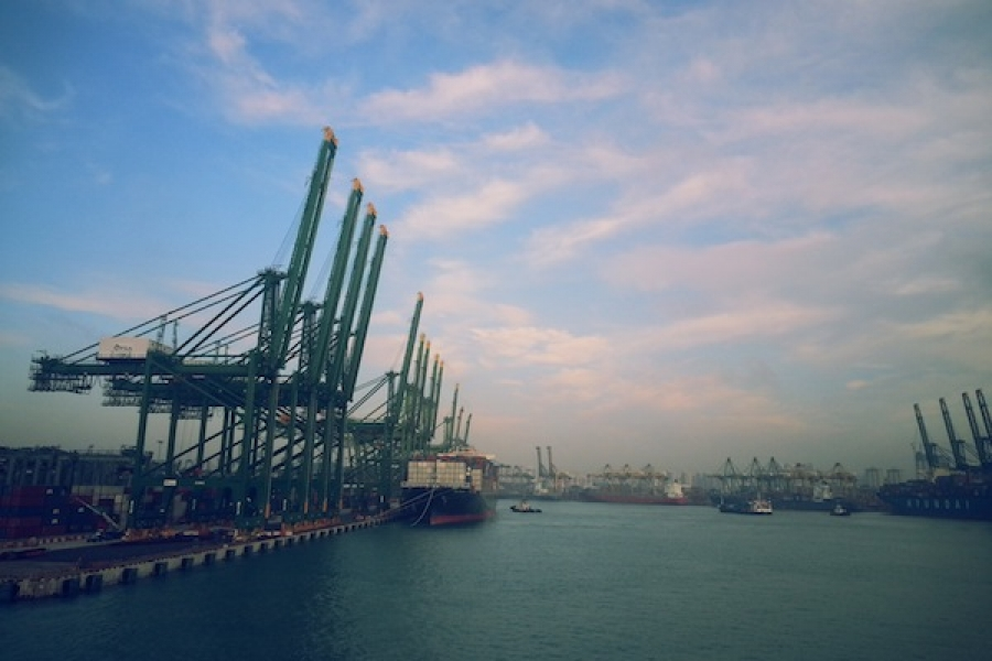 Singapore container volumes climb to 2.99m teu in May