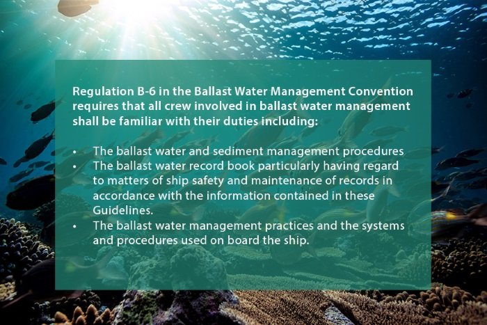 Seagull: Effective onboard training on the Ballast Water Management Convention