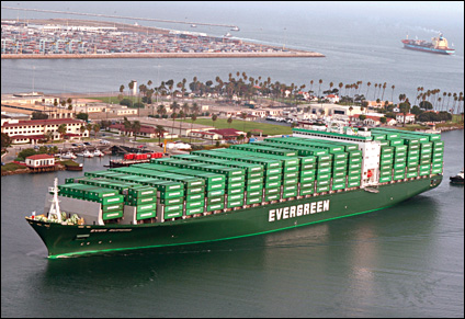 Evergreen rolls out sea freight services for Alibaba.com members