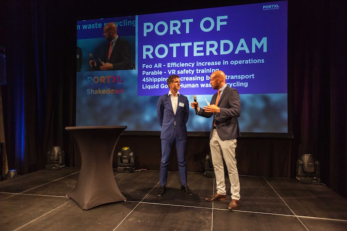 Port of Rotterdam Authority contracts four PortXL start-ups