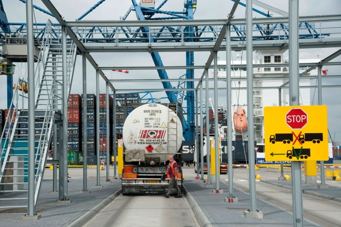 New City Terminal entrance improves accessibility of Rotterdam's city and port