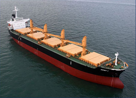 Eagle Bulk Takes Delivery of M/V Rowayton Eagle