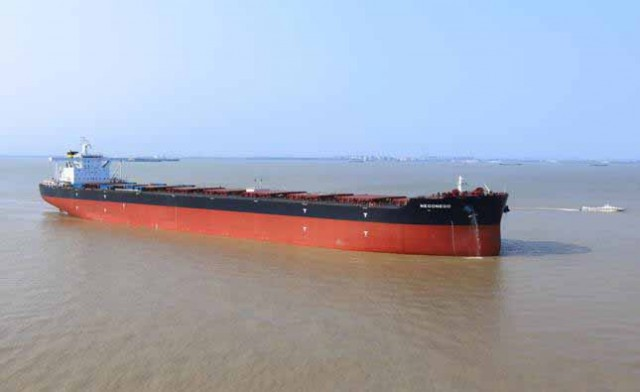 Dryships Inc. Announces Successful Delivery Of Its Second Modern Newcastlemax Vessel