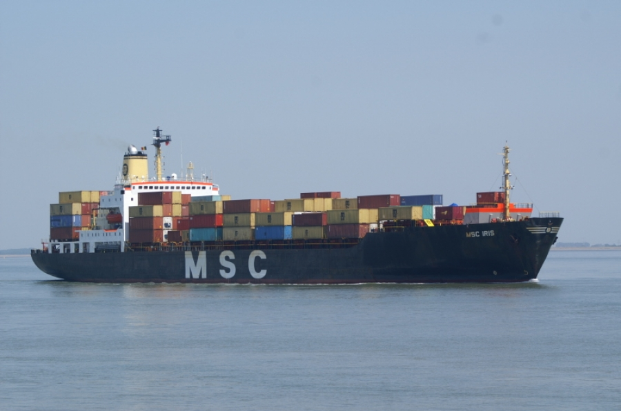 The economics of a 36 year old containership