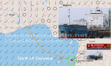 Tanker PANTELENA was hijacked and held by pirates for 9 days