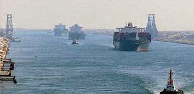 China Constructs New Terminal in Suez Canal