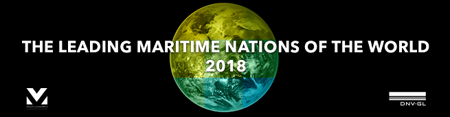 "China tops the table: DNV GL and Menon Economics release ""Leading Maritime Nations of the World"" 2018"