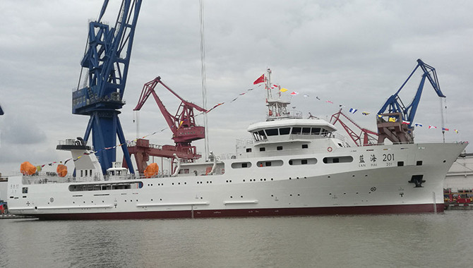 China building its largest marine research vessels
