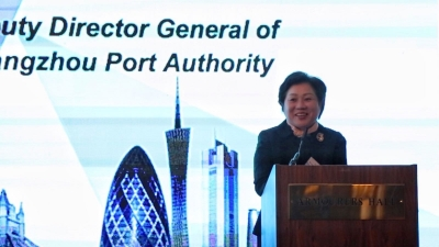 Port of Guangzhou promotes South China 'city of opportunity'