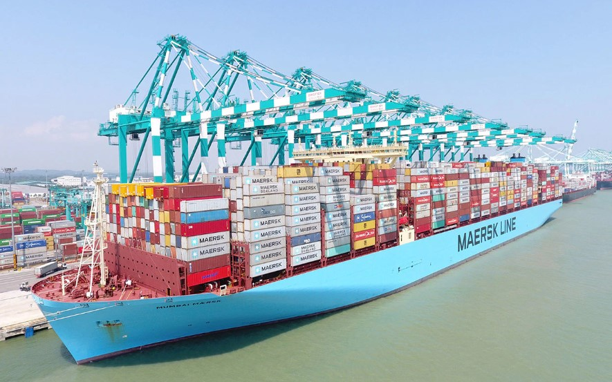 Maersk Invests in Digital Freight-Booking Startup