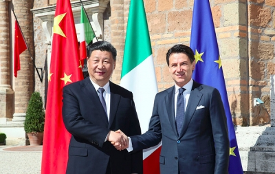 China and Italy to jointly promote the Belt and Road Initiative