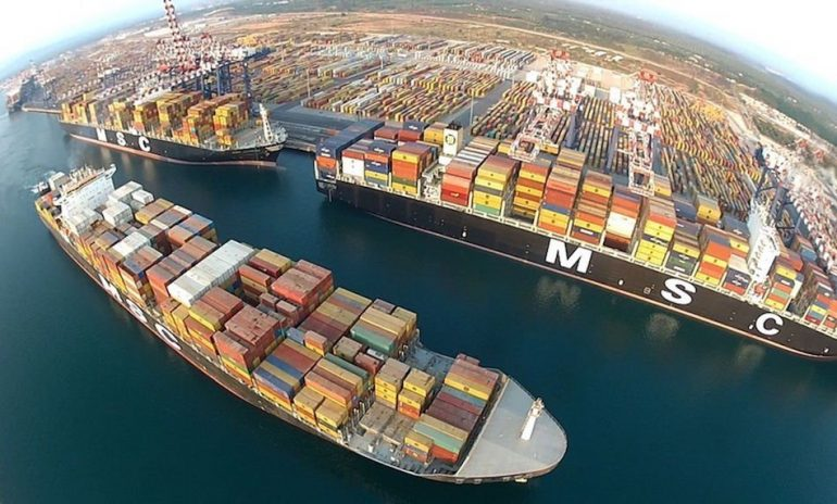 Singapore takes 10% stake in MSC's terminal company
