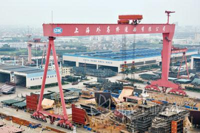 Merger of Yards in South Korea, China Will Control Global Shipbuilding