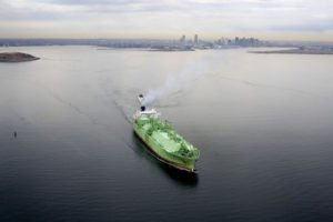US becomes the world's third largest LNG exporter