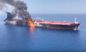 More attacks 'highly likely' by Iran on shipping in Strait of Hormuz