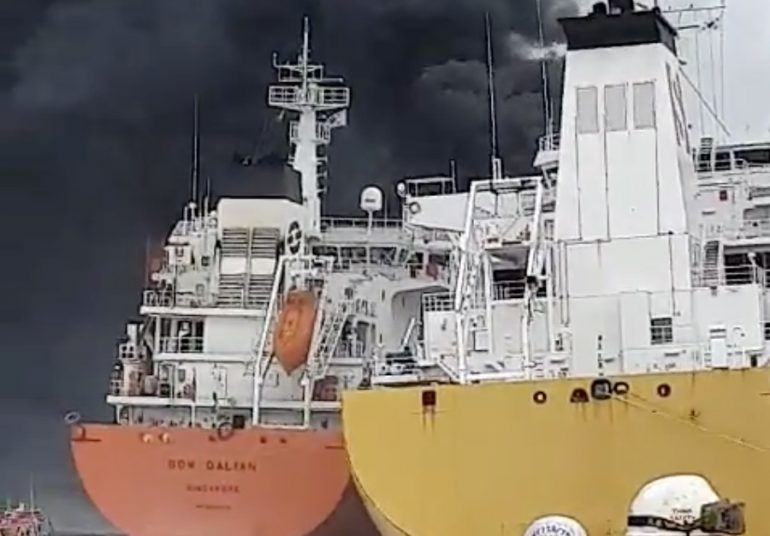 Explosion on Stolt chemical tanker at Ulsan injures nine