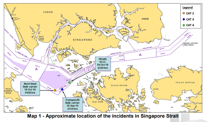 ReCAAP ISC warning: Unauthorized boardings on ships in Singapore Strait