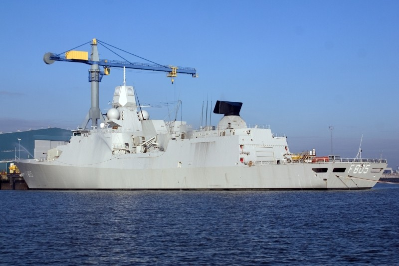 Royal Dutch Navy vessel EVERTSEN