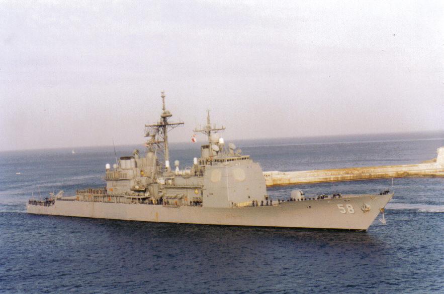 USS Phillipine Sea  CG 58