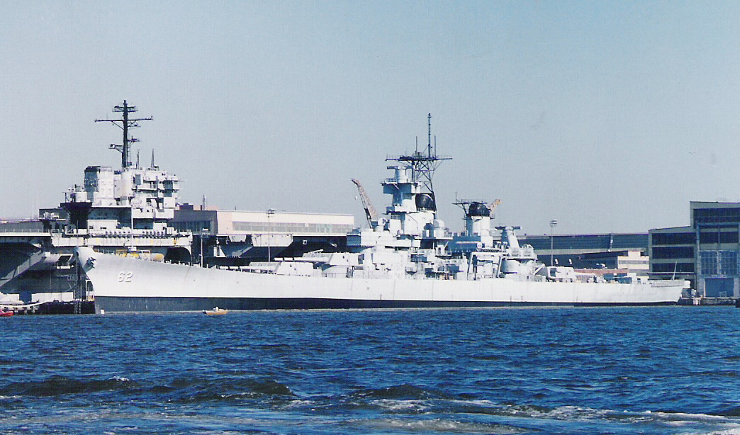 USS NEW JERSEY BB 62