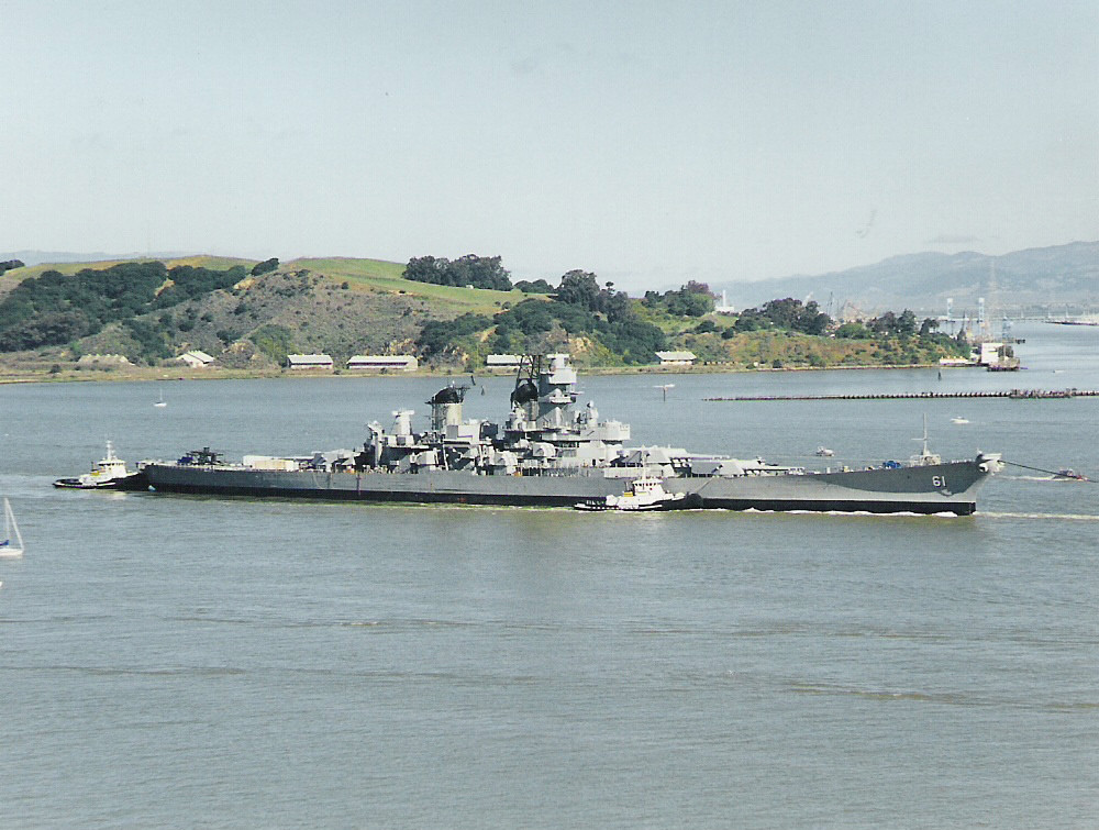 USS IOWA BB 61