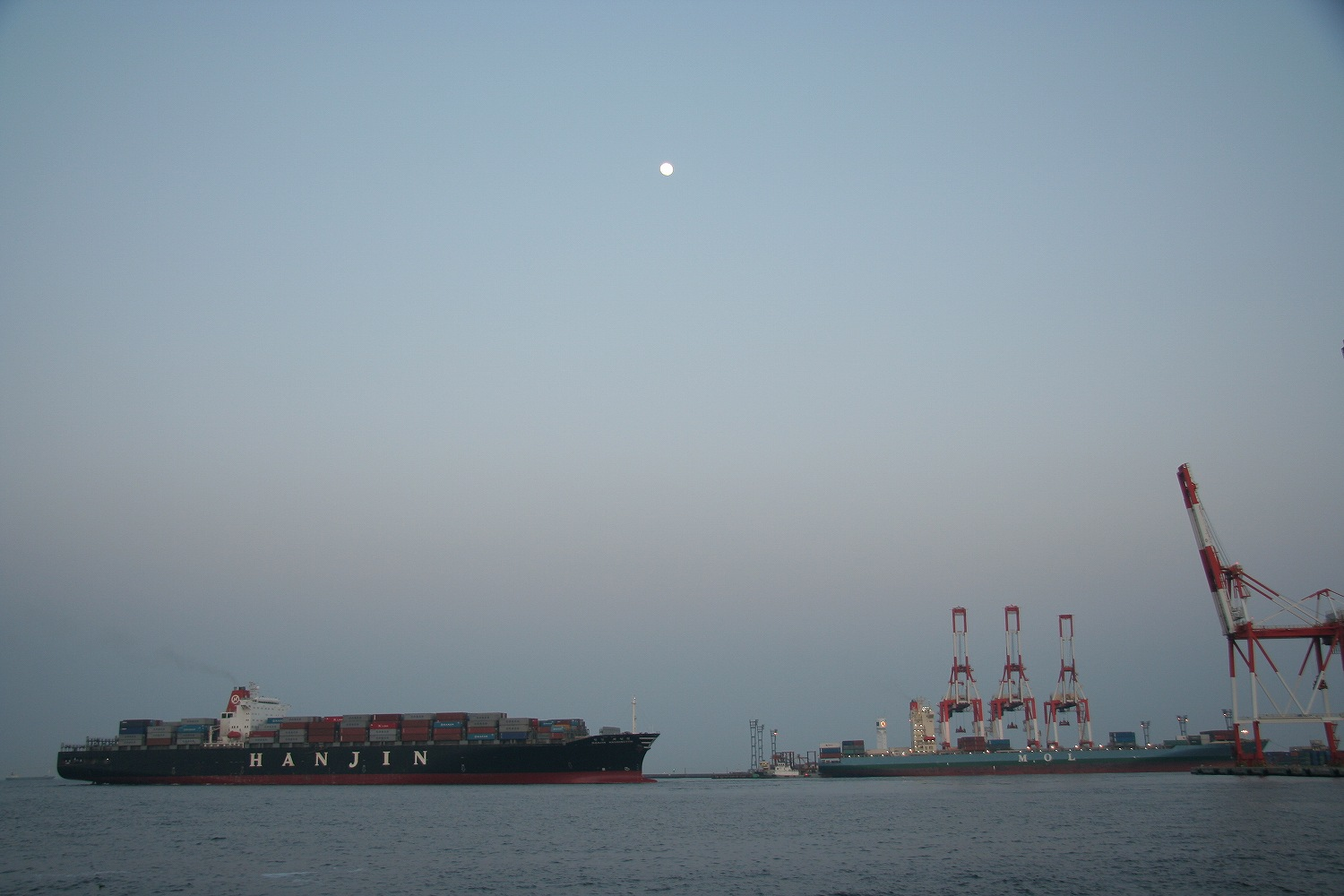 HANJIN WASHINGTON&MOL DOMINANCE