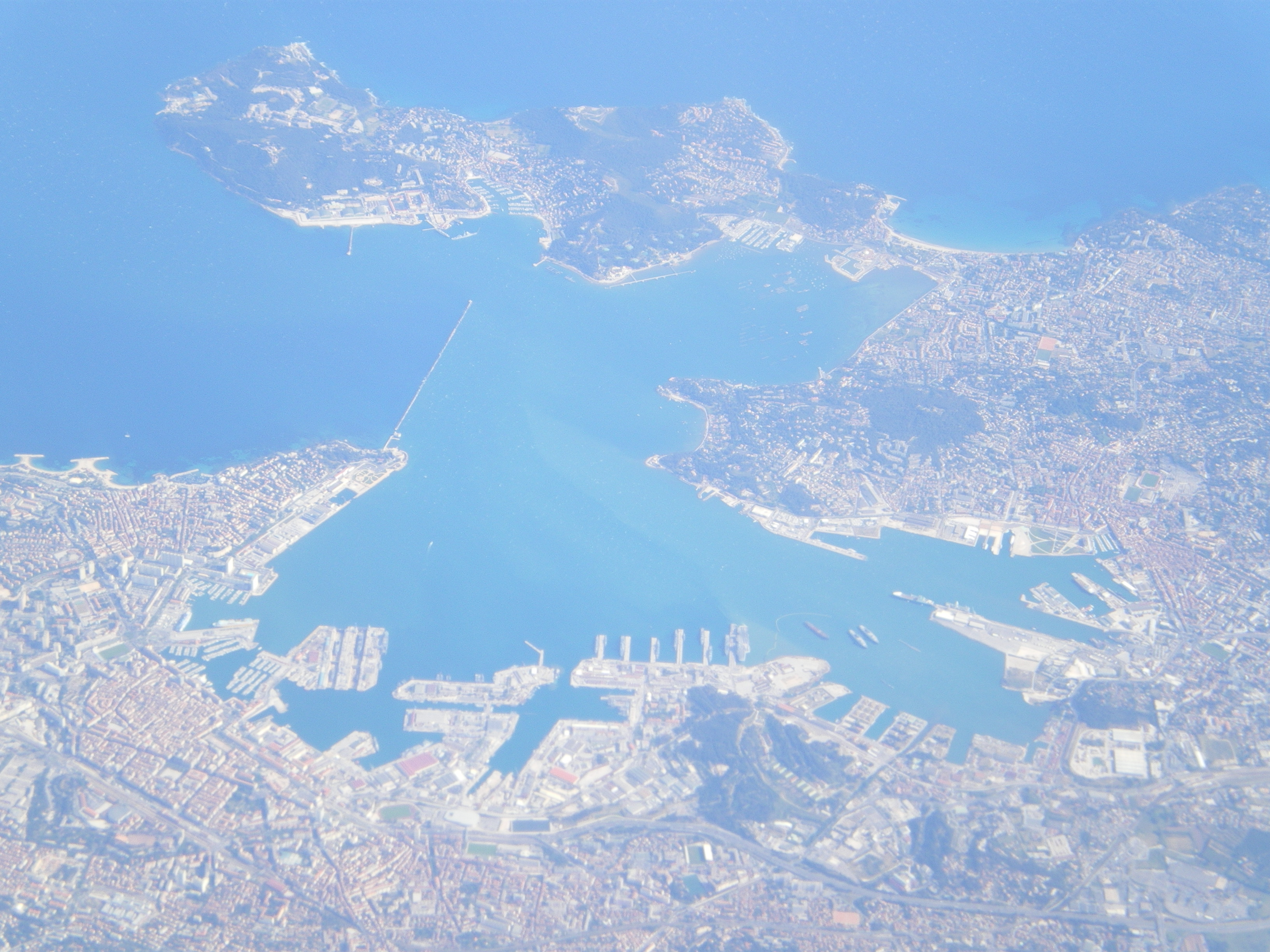 City and Port of Toulon, France