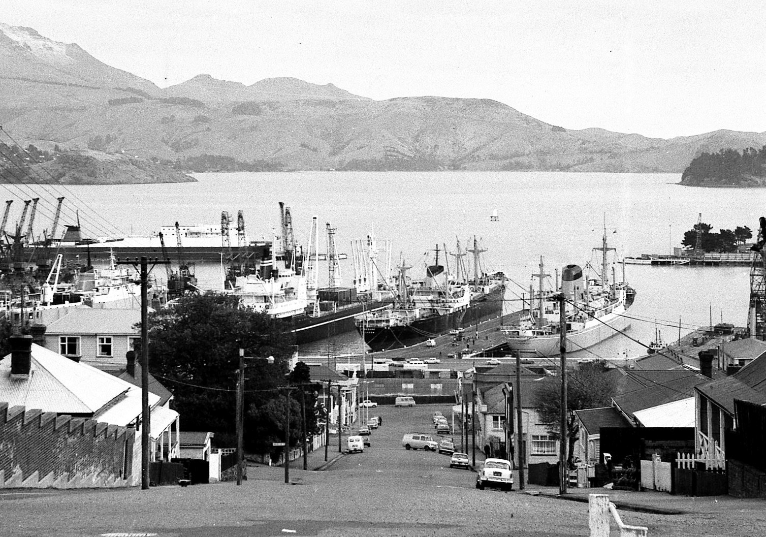 Port of Lyttelton 1977