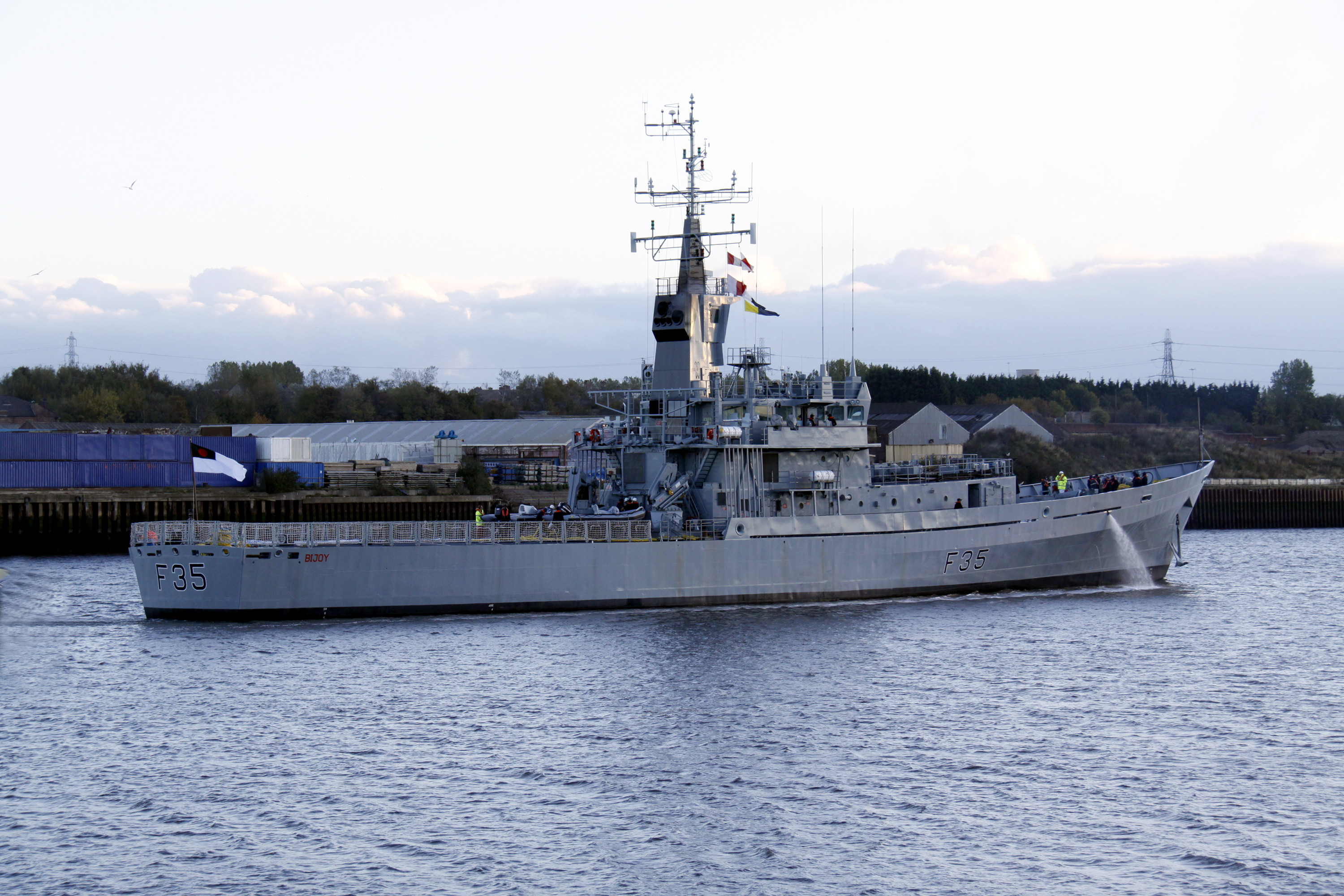 Bijoy (ex HMS Dumbarton Castle)